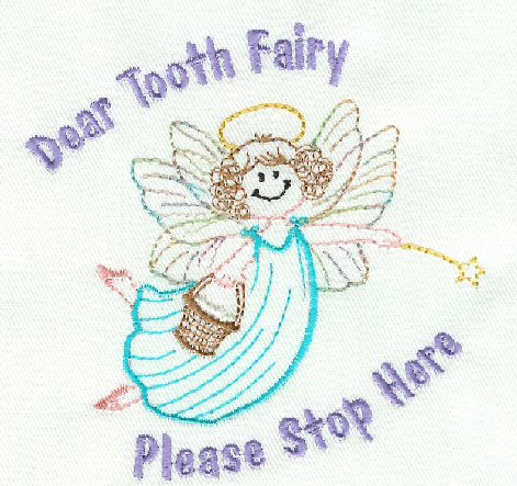 Pictures Of Fairies To Color. Tooth Fairy #4. Multi-color