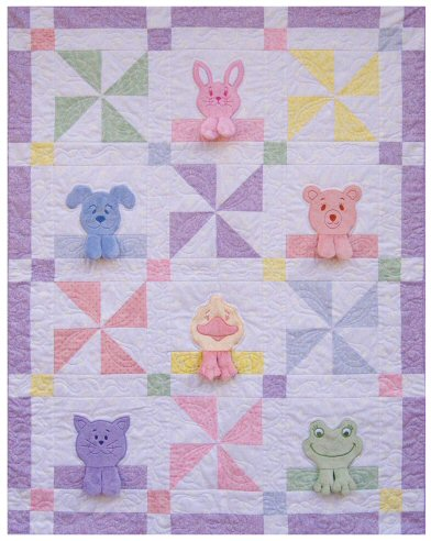 something brought you here: Scrappy Minky Quilt - (Free Pattern!)